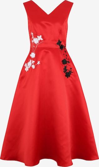 APART Kleid in rot / schwarz / weiß, Produktansicht