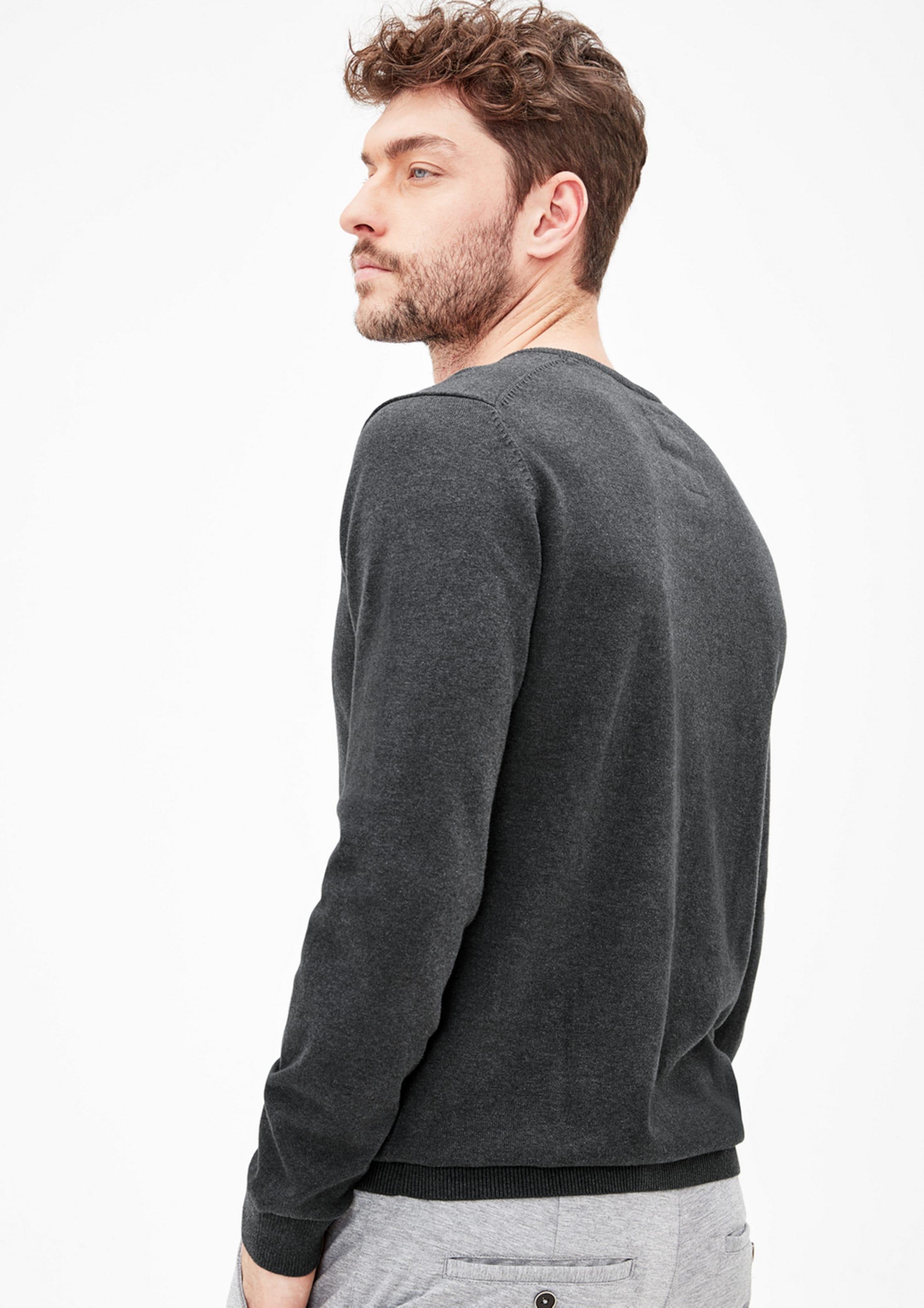 s.Oliver RED LABEL Pullover mit V-Ausschnitt Verkauf Für Schön Outlet Rabatte lB602fj