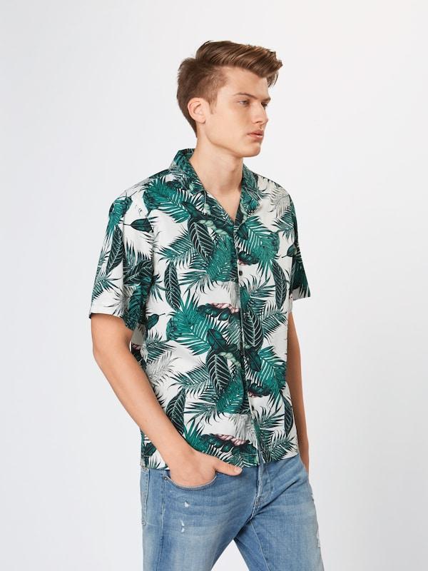 Urban 'pattern En Shirt' Classics Resort Chemise VertBlanc f6b7gy