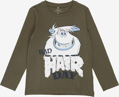 NAME IT Shirt in de kleur Olijfgroen, Productweergave