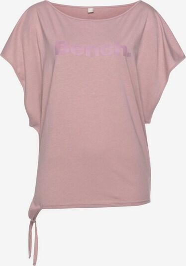 BENCH Bench. T-Shirt in mauve, Produktansicht