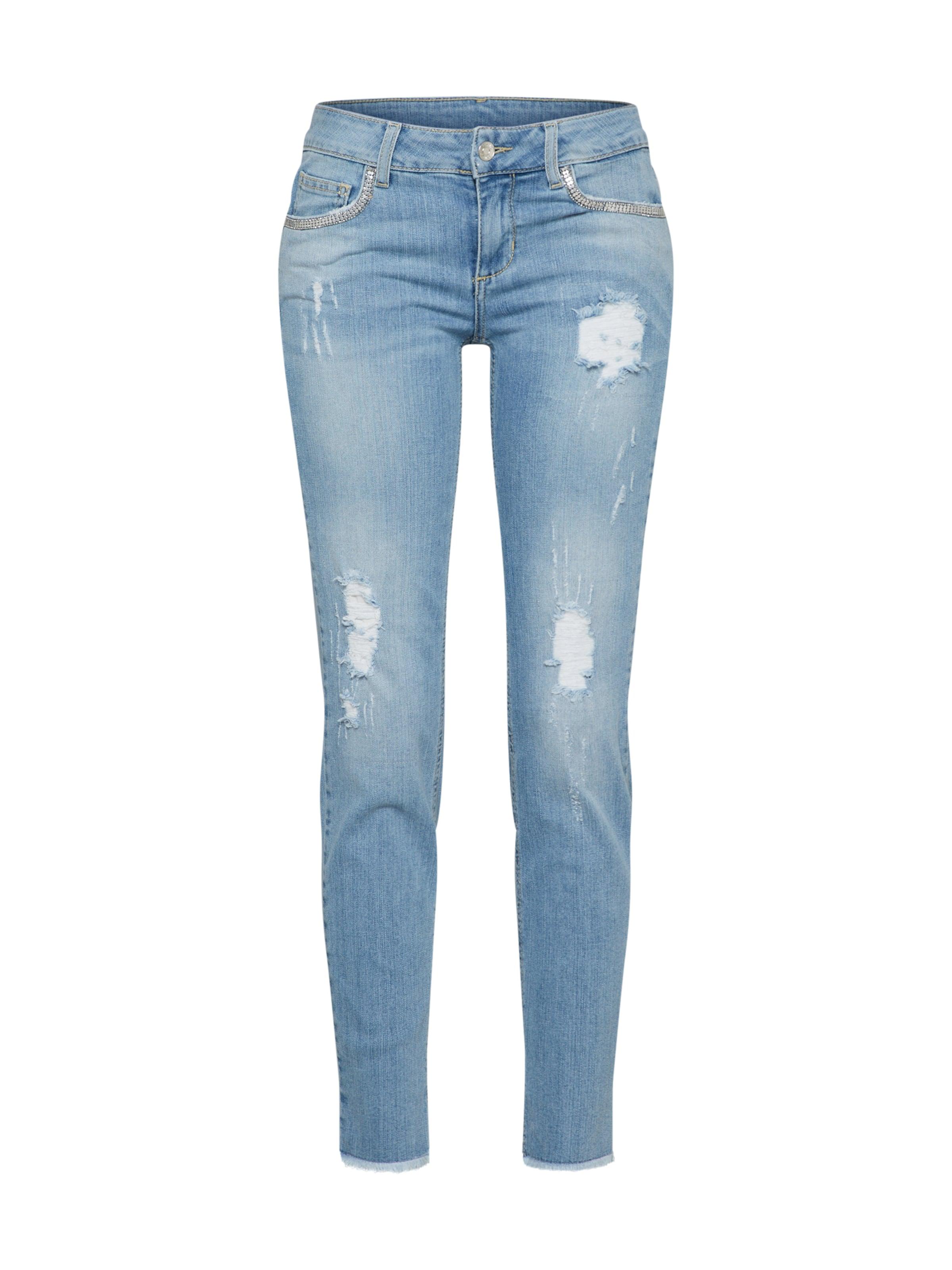 Jo Liu Blue Denim Jeans Jeanshose In oCBedx