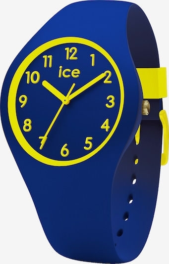 ICE WATCH Quarzuhr in blau / gelb, Produktansicht