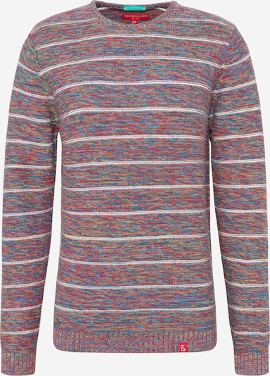 COLOURS & SONS Pullover 'KNIT-STEVE' in mischfarben, Produktansicht