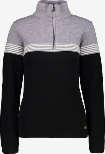CMP Pullover ' Knitted Pullover ' in schwarz, Produktansicht