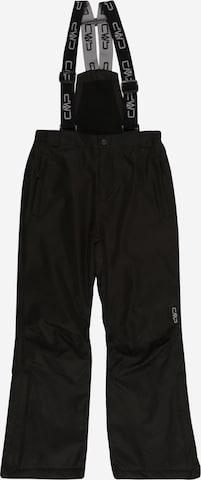CMP Outdoor Pants 'KID SALOPETTE' in Black