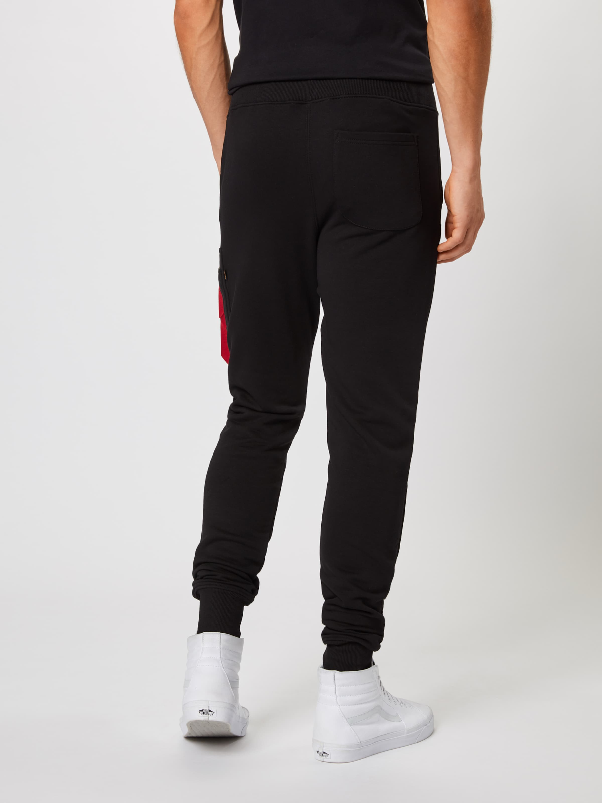 En Noir 'x Pant' Pantalon fit Cargo Alpha Industries Slim yYfb76g