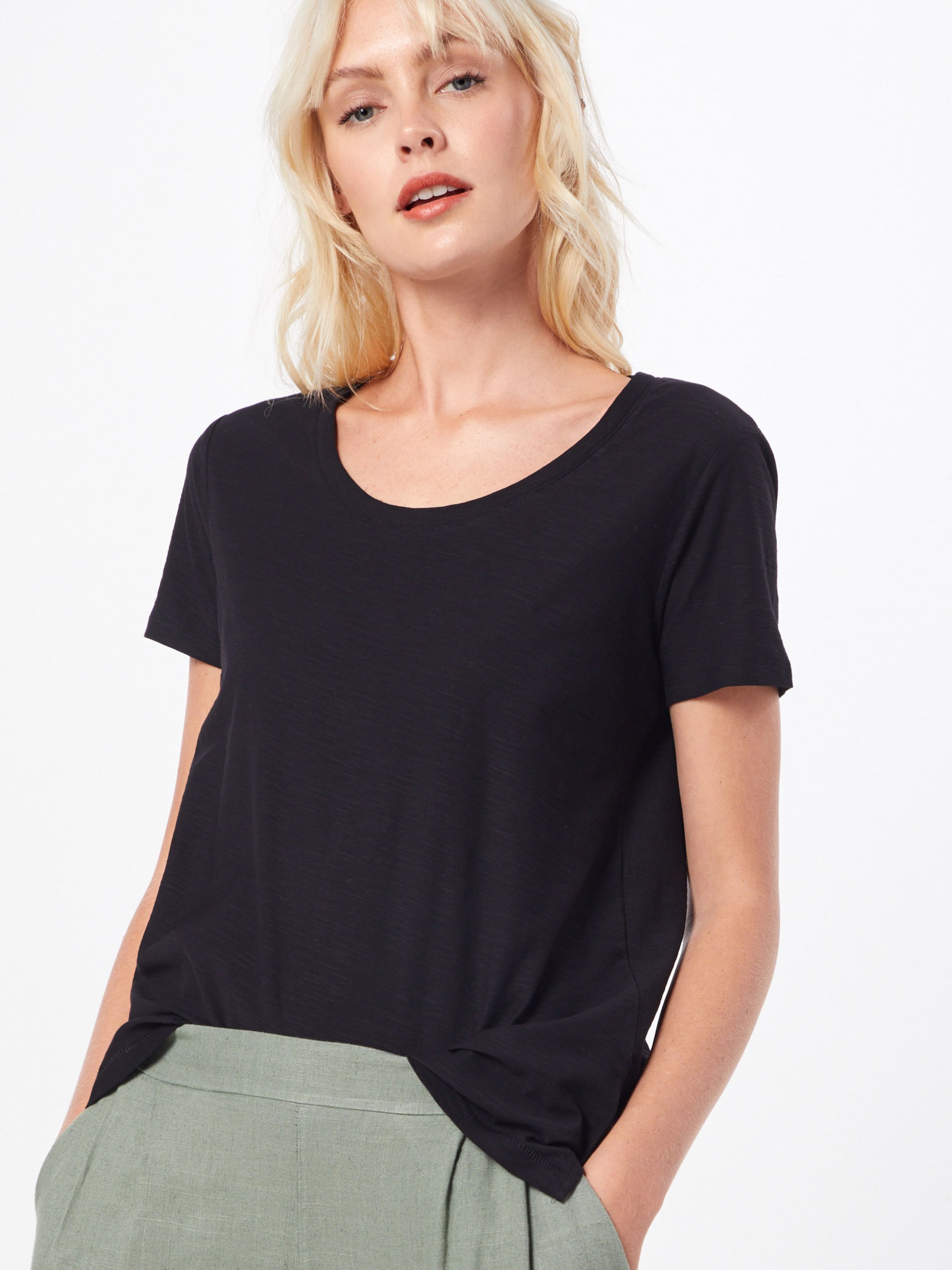 Red S oliver shirt Schwarz T Label In 0Nnmw8