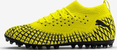 PUMA Fußballschuh 'Future 4.2 Netfit' in neongelb / schwarz, Produktansicht