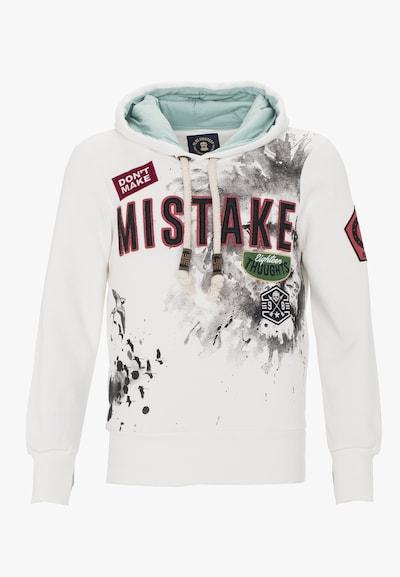 PLUS EIGHTEEN Sweatshirt in de kleur Offwhite, Productweergave