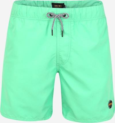 Shiwi Plavecké šortky 'Solid Mike' - zelená: Pohled zepředu