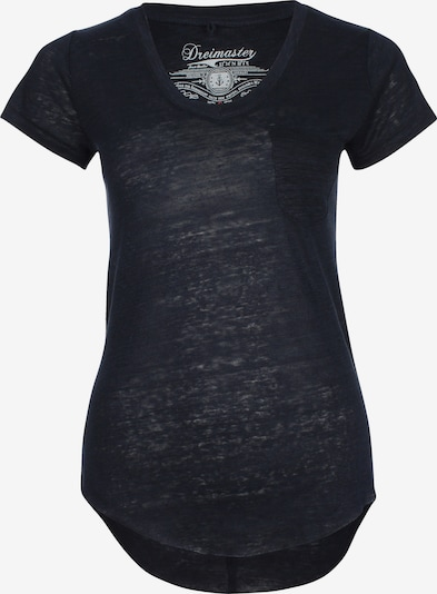 DREIMASTER T-Shirt in blau, Produktansicht