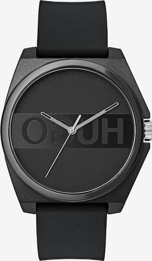 HUGO Uhr in schwarz, Produktansicht