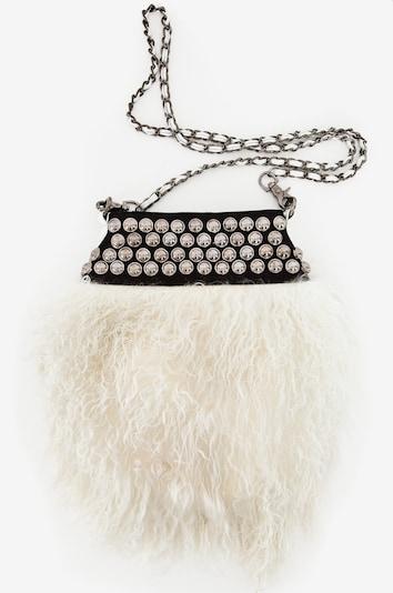 Maze Felltasche 'Babs' in schwarz / weiß, Produktansicht