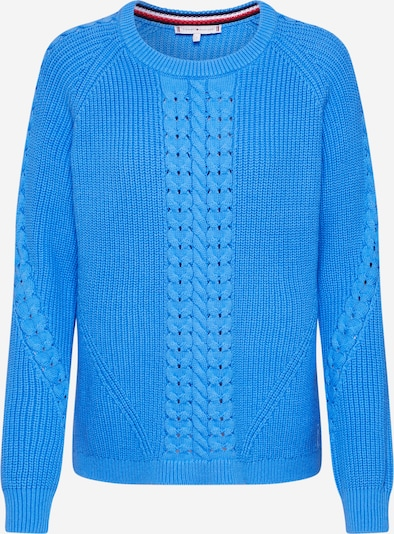 TOMMY HILFIGER Pullover 'VALARY C-NK SWTR' in blau, Produktansicht