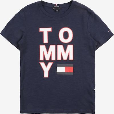 TOMMY HILFIGER Shirt in de kleur Marine / Rood / Wit, Productweergave