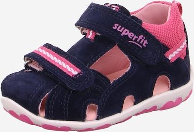 SUPERFIT Sandale 'FANNI' in blau / rosa, Produktansicht