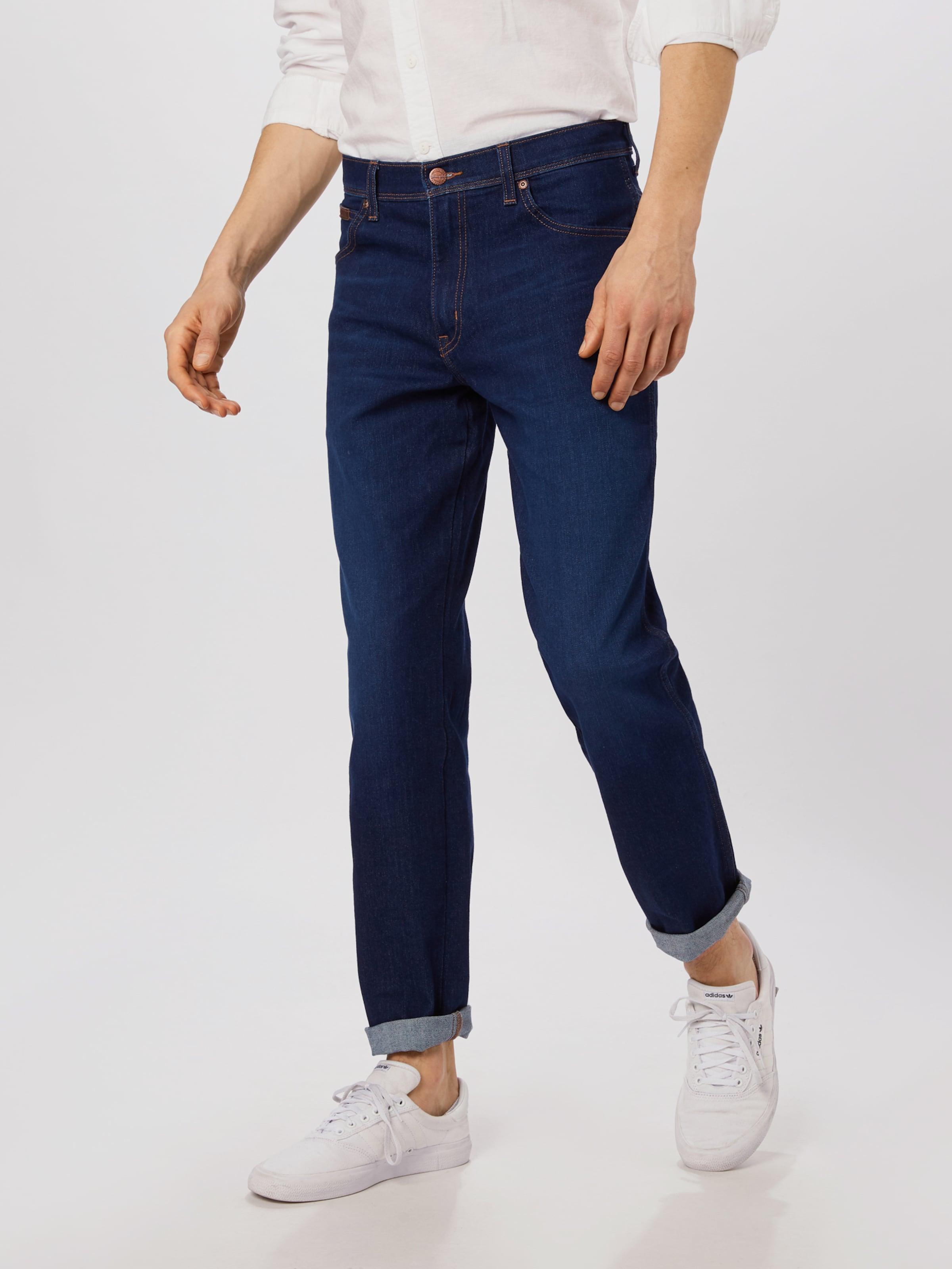 WRANGLER Jeans 'Texas' in blue denim Unifarben WRA0133005000001