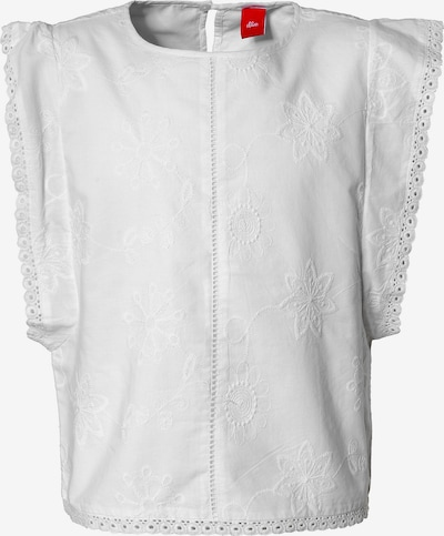 s.Oliver Junior Bluse in weiß, Produktansicht