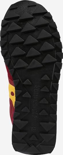 saucony Sneakers 'JAZZ ORIGINAL VINTAGE' in gelb / blutrot: Ansicht von unten