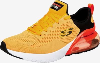 SKECHERS Sneaker in goldgelb / rot / schwarz, Produktansicht