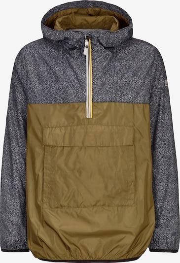 KILLTEC Jacke in graumeliert / oliv, Produktansicht