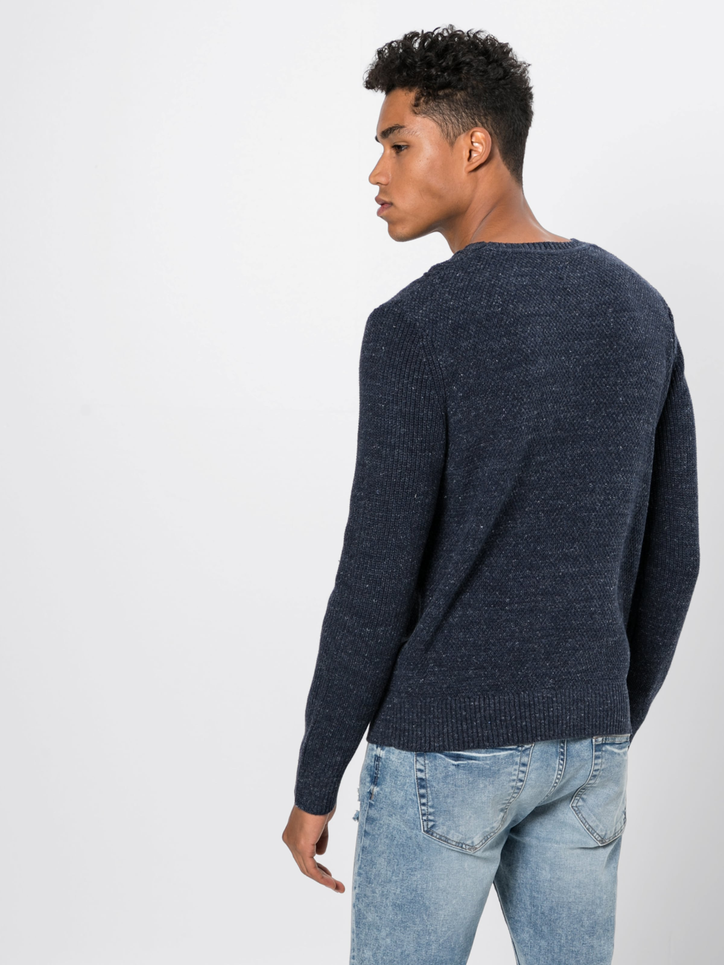 Gap Strickpullover Cable In Navy 'budding Crew' y0Ovnw8PmN