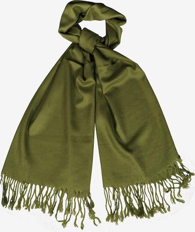 Silvio Tossi Schal im unifarbenen Design in grün, Produktansicht