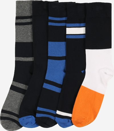 BURTON MENSWEAR LONDON Socken in blau / anthrazit / schwarz, Produktansicht