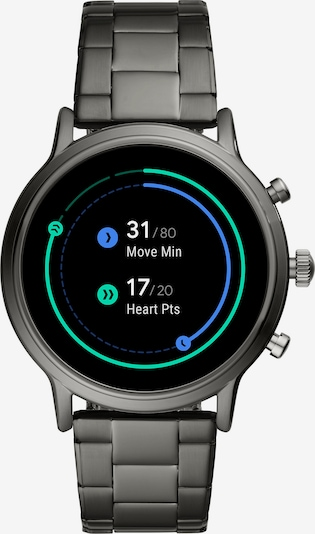 FOSSIL Smartwatch in anthrazit, Produktansicht