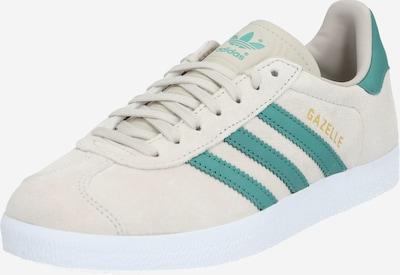 ADIDAS ORIGINALS Sneaker 'GAZELLE W' in beige / grün, Produktansicht