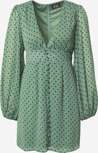 Parallel Lines Jurk 'Polka' in de kleur Groen / Zwart, Productweergave