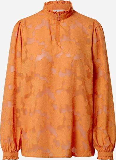 Freequent Blouse 'Dagna' in de kleur Sinaasappel, Productweergave