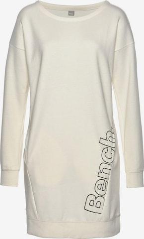 BENCH Shirt Dress in Beige