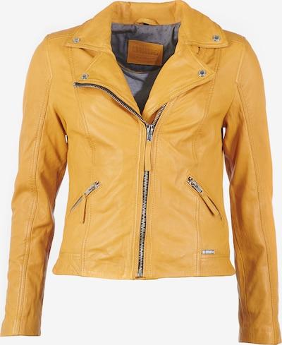 MUSTANG Lederjacke in gelb, Produktansicht