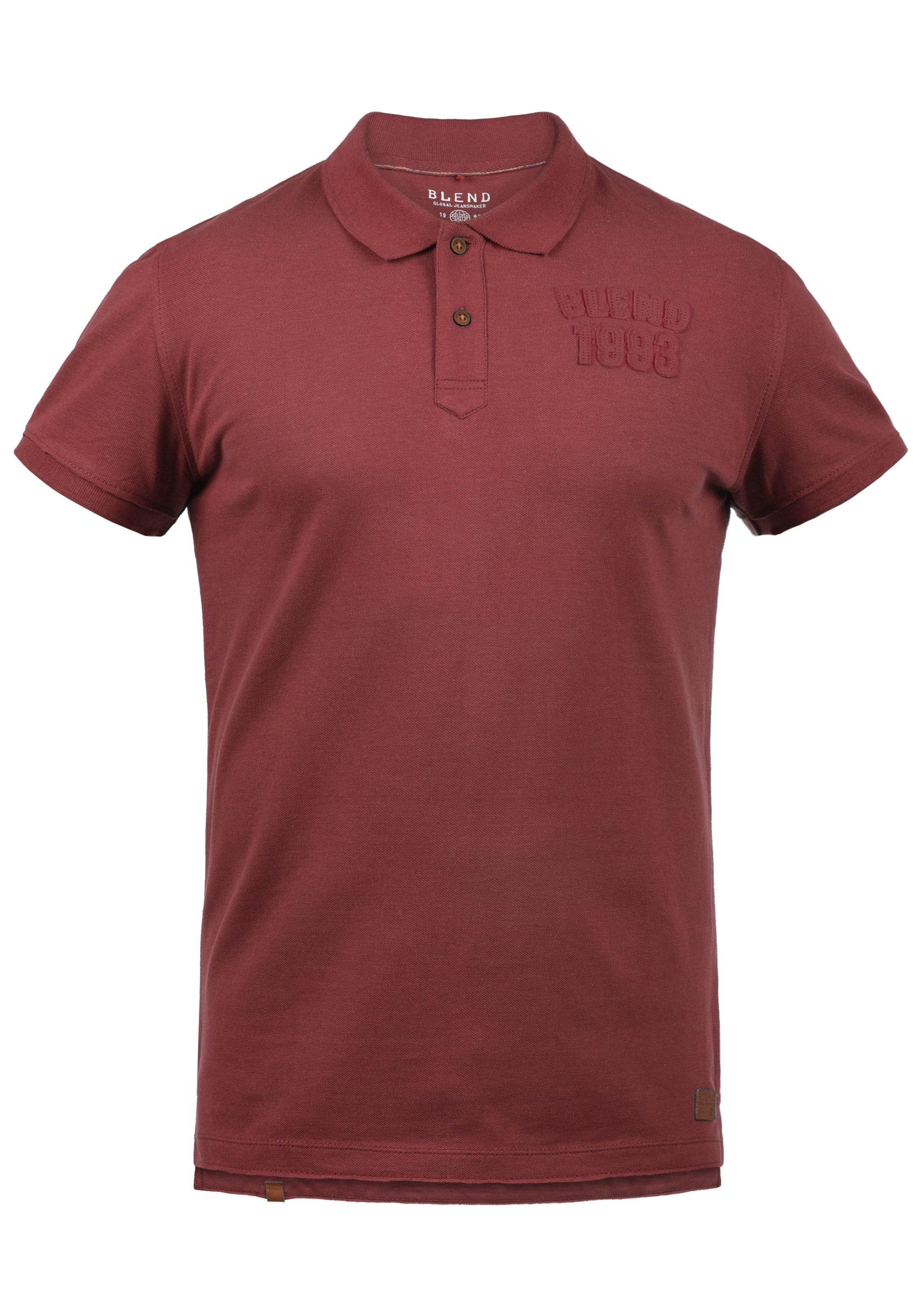 Blend Blend Dunkelrot Poloshirt Poloshirt 'tadeus' In Dunkelrot 'tadeus' In In Blend Poloshirt 'tadeus' n0XZNP8kwO