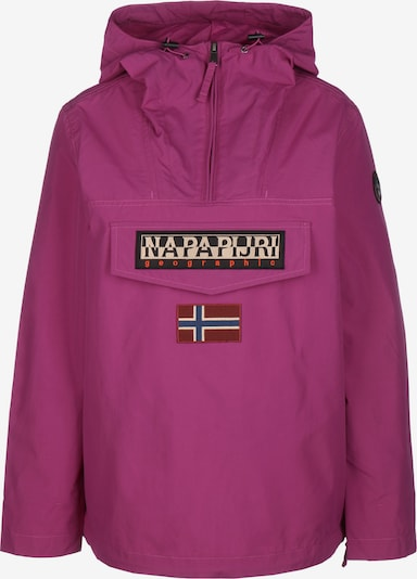 NAPAPIJRI Windbreaker 'RAINFOREST SUM 2' in dunkelpink, Produktansicht