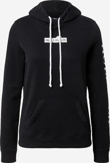 HOLLISTER Bluzka sportowa w kolorze czarny / białym, Podgląd produktu