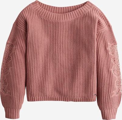 HOLLISTER Pullover  'STITCH VNECK SWEATER 3CC' in rosé, Produktansicht