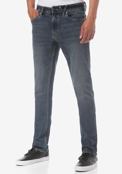Volcom Jeans 'Vorta' in de kleur Blauw denim, Modelweergave