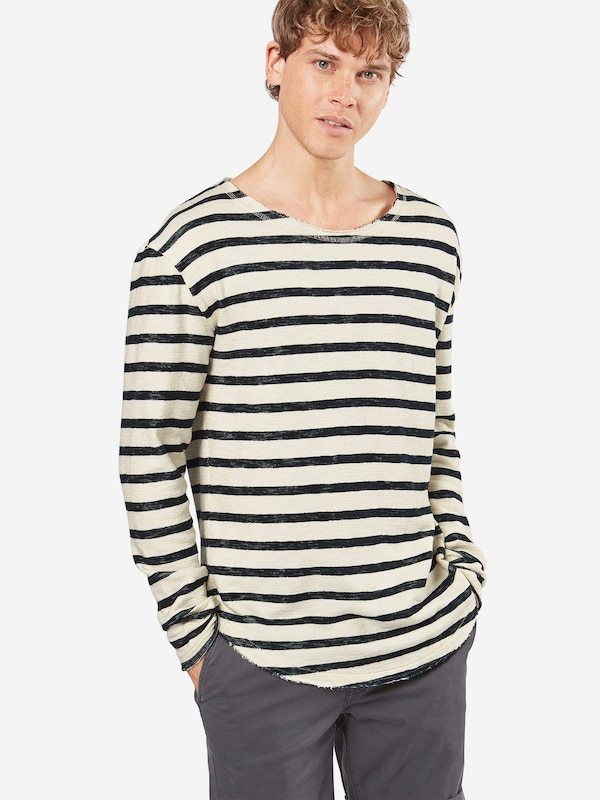 tigha Sweatshirt 'Alister' mit Streifen