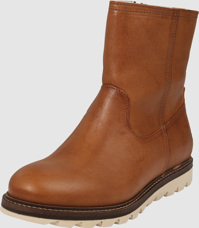 BULLBOXER Klassische Leder-Stiefelette