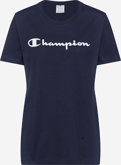 Champion Authentic Athletic Apparel T-shirt en bleu marine, Vue avec produit