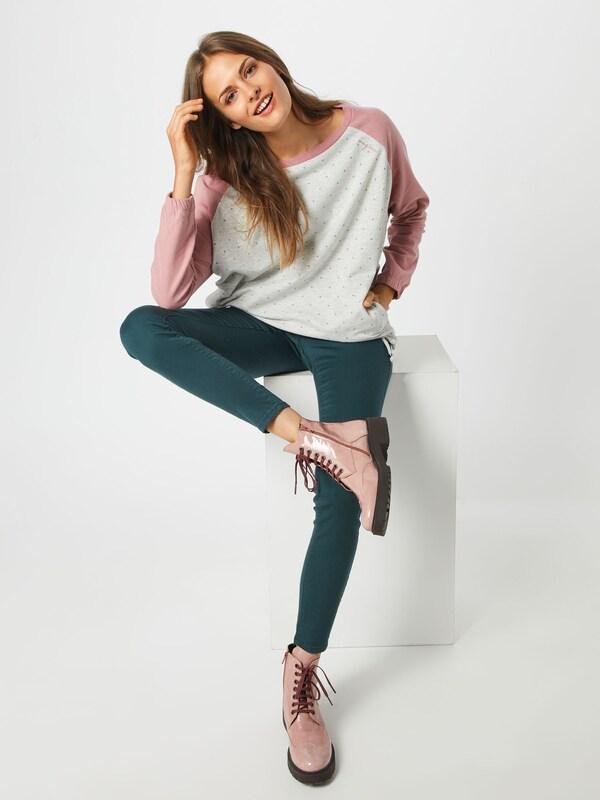 Mazine Sweatshirt 'Tacoma Batwing Sweater' Sweater' Sweater' in mauve   weiß  Neue Kleidung in dieser Saison dee59d