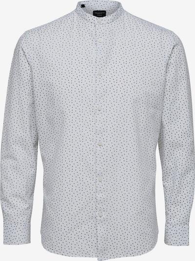 SELECTED HOMME Leinen Hemd in weiß, Produktansicht