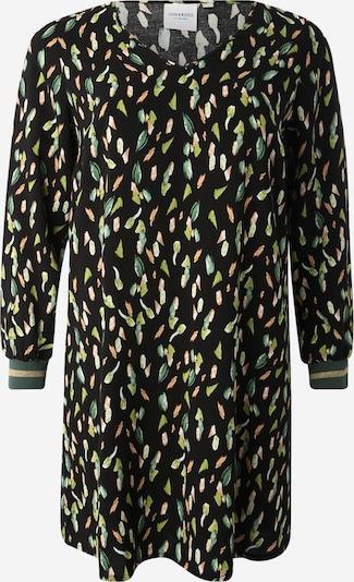 Junarose Robe en jaune / noir, Vue avec produit