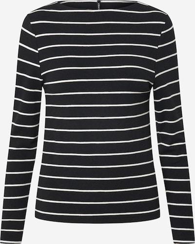 ONLY Shirt 'ONLFINEA' in de kleur Zwart / Wit, Productweergave