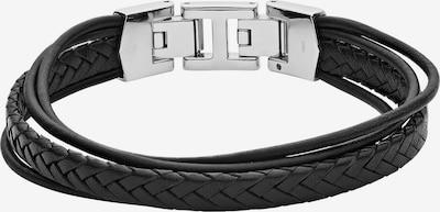 FOSSIL Herrenarmband in schwarz, Produktansicht