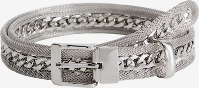 MANGO Opasek 'CINTURON CLUBBING' - stříbrná, Produkt
