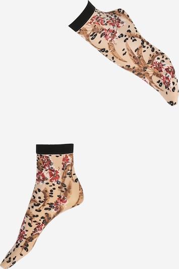 Madingos prisegamos kojinės 'Jungle Fever SO' iš FALKE , spalva - smėlio, Prekių apžvalga